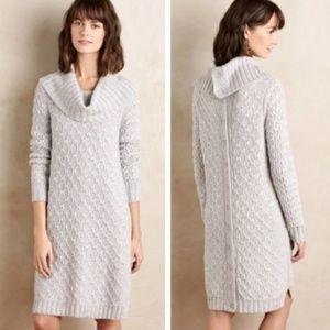Sparrow  cowl neck sweater dress